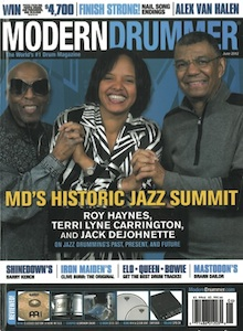Jack DeJohnette MD Cover