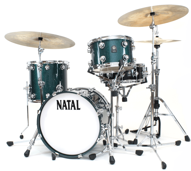 Video Demo! Natal - Café Racer Series Drumset