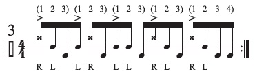Hidden Rhythms Odd Groupings 3