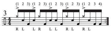 Hidden Rhythms Odd Groupings 3