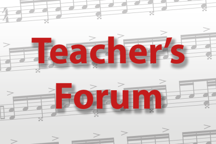 Teacher's Forum
