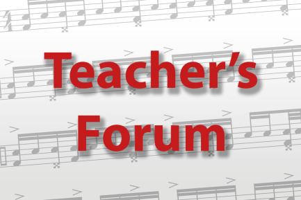 Teacher's Forum