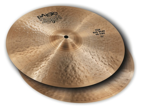 Paiste 2002 Big Beat hi-hats