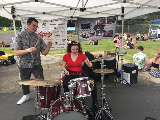 PMC Drum Lesson Tent
