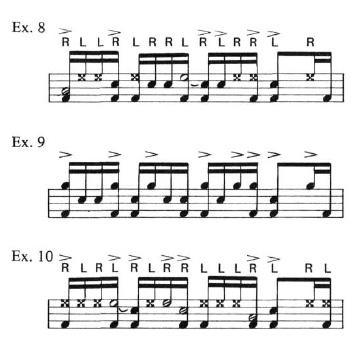 Latin Rock Patterns 8
