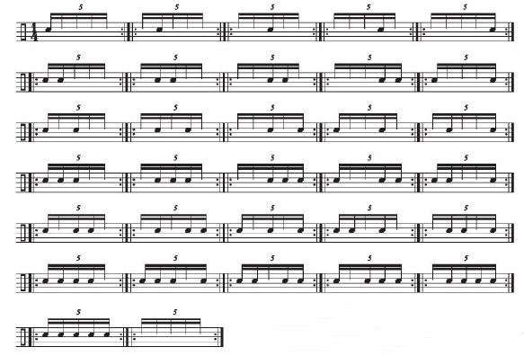 Dexterity in Odd Rhythms 4