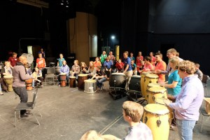 Day of Percussion drum circle