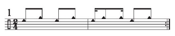Implied Brazilian Rhythms 1