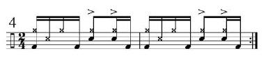 Implied Brazilian Rhythms 3