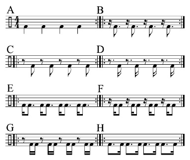 Paradiddles and 16th-Note Subdivisions 2