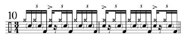 Phrasing Quintuplets 7