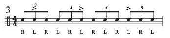 18 Triplet-Roll Warm-Ups 3