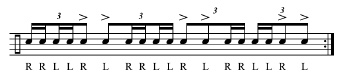 18 Triplet-Roll Warm-Ups 9