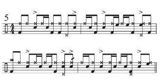 """Beyone """"Funky Drummer"""" 6"""