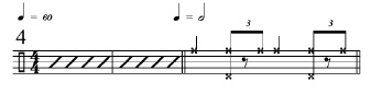 Rhythmic Transition Examples 4