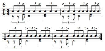 Syncopation Revisited 3/4 Applications 7
