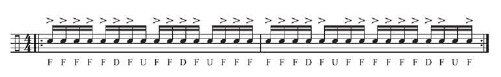 Three-Note 16th Groupings 2