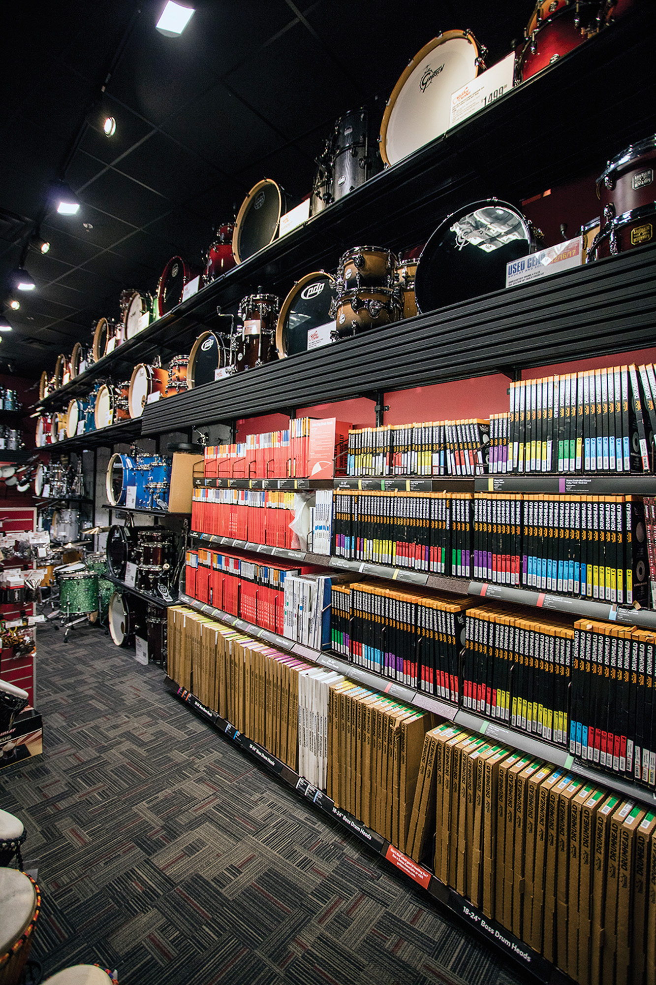 guitar center destination drum shops modern drummer magazine. Black Bedroom Furniture Sets. Home Design Ideas