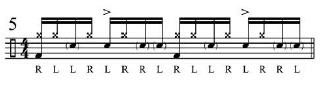 Broken doubles and Paradiddles 7