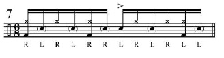 Broken doubles and Paradiddles 8