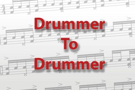 DrummerToDrummer