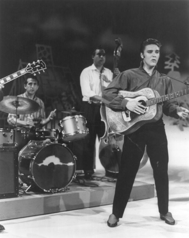 DJ Fontana and Elvis
