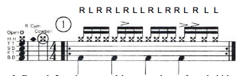 Paradiddle Funk 1