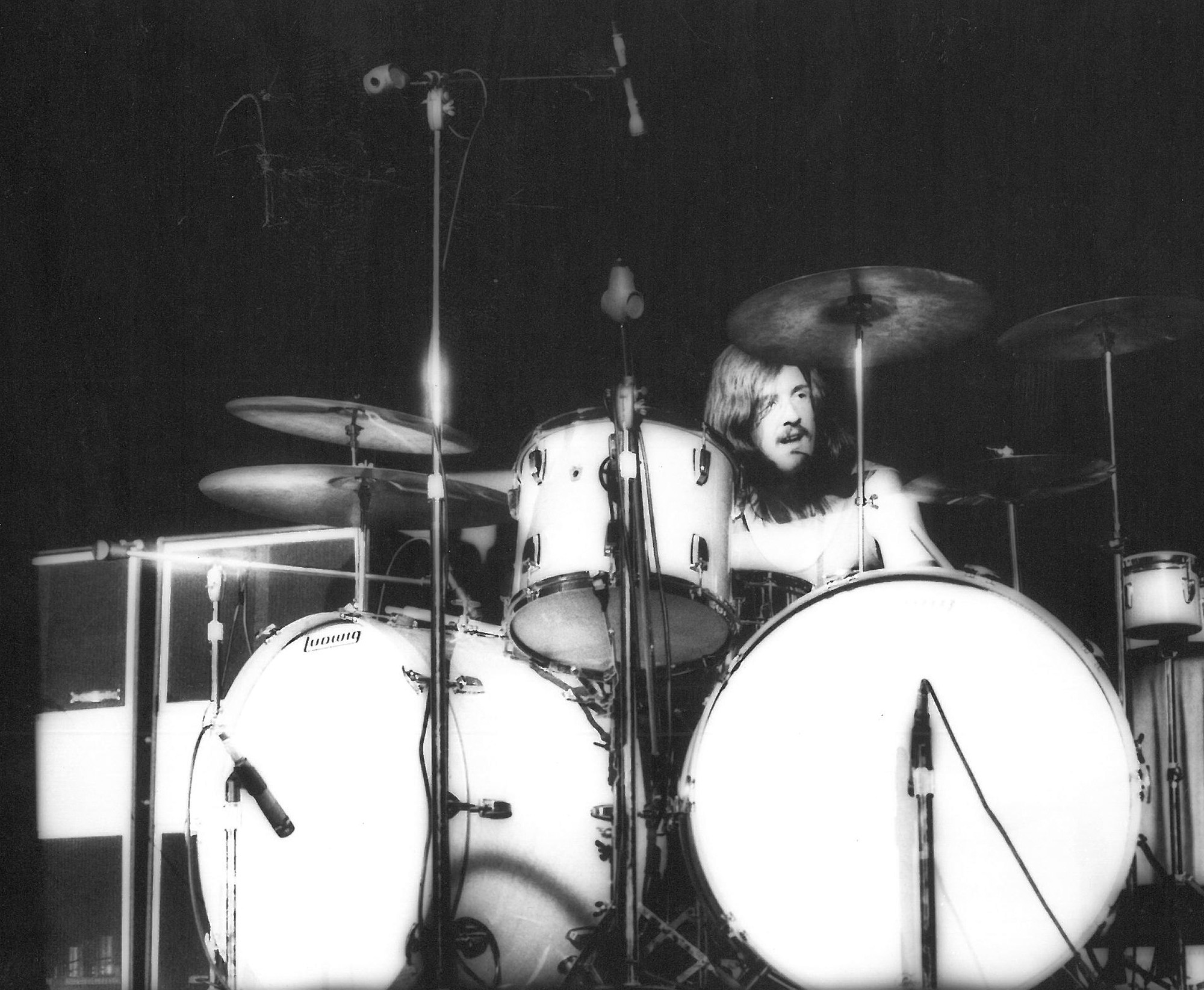 john bonham s first ludwig kit modern drummer magazine. Black Bedroom Furniture Sets. Home Design Ideas