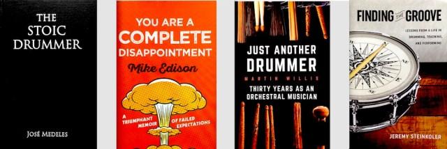 4 Drummer Books