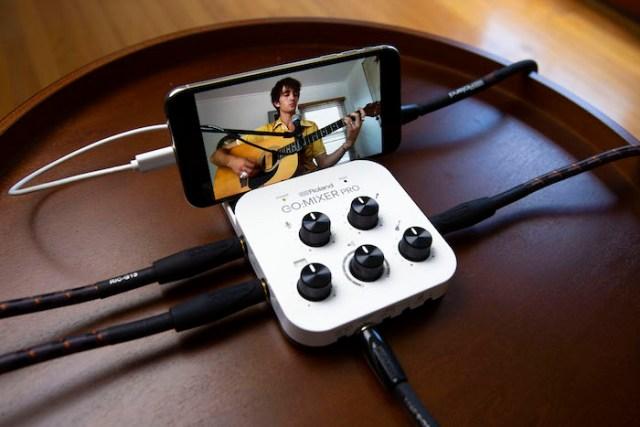 Roland Go:Mixer Pro Smartphone