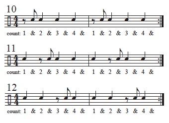 Basics Reading Rhythms 6
