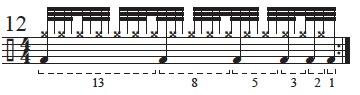 """Golden Measures"" and Fibonacci Rhythms 14"