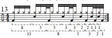 """Golden Measures"" and Fibonacci Rhythms 15"