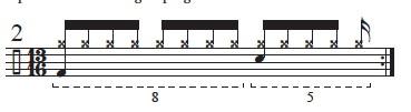 """Golden Measures"" and Fibonacci Rhythms 3"