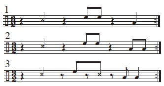 Mambo Bell Ideas in 3/2 time 7