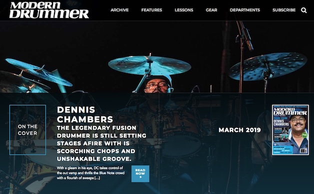 Modern Drummer Magazine | Current Issue
