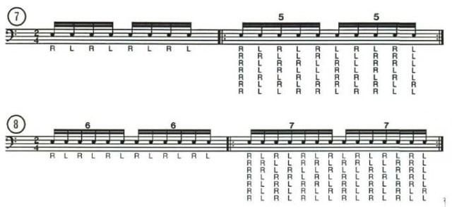 Odd Beat Subdivisions 6