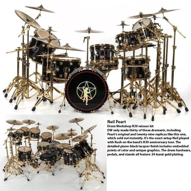 Neil Peart Kit
