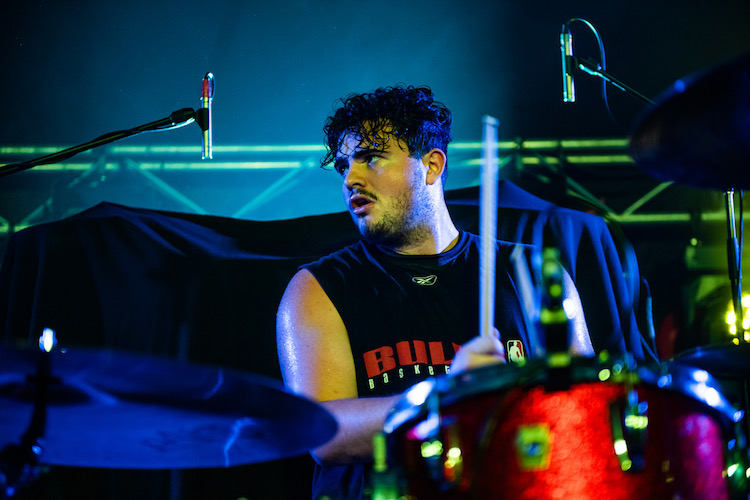 Connor Brodner of Twin Peaks   Modern Drummer Magazine
