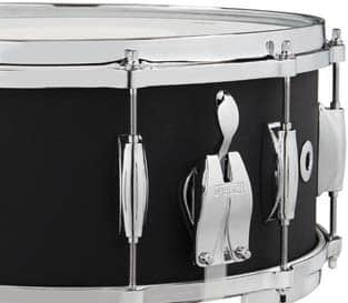July 2020 Gretsch USA Black Copper Snare Drums D