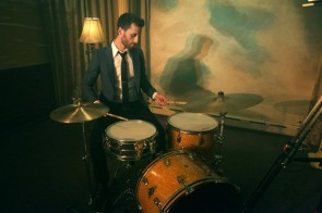 Drummer Evan Howard of Deadbeat Darling Blog