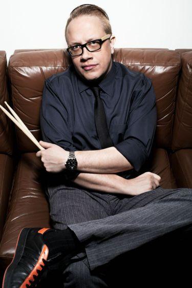 Drummer Gintas Janusonis