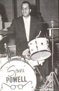 "Drummer Gordon ""Specs"" Powell"