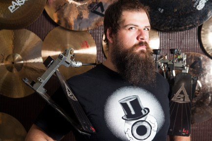Drummer Ruston Grosse of Surgeon