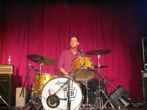 Drummer Patrick Berkery