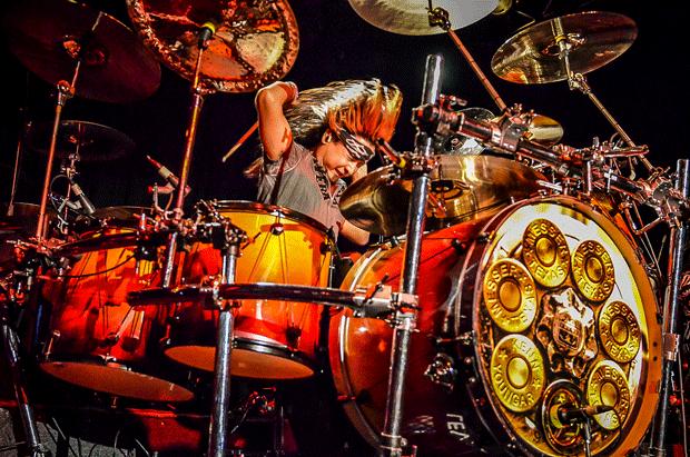 Drummer Kenn Youngar of Messer