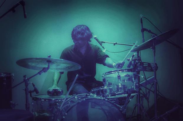 Drummer Ren Mathew of Bailiff