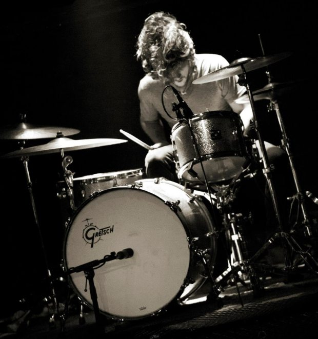 Drummer Chris Copeland of Cosmic Wolf