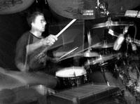 drummer Aaron Harris of King Crimson