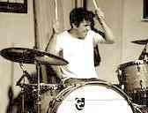 Drummer Adam Phillips of the Architects